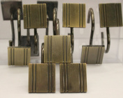 Austin Bronze Set of 12 Shower Hooks