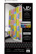 Deluxe Shower Curtain- Bright Sunflowers