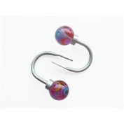 Style Selection Curtain Holdback Hooks - Pack of 2