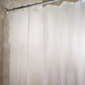H:oter PEVA Shower Curtain, Frosty Clear, 70.08*180cm