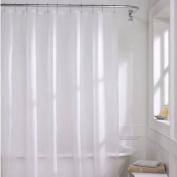 H:oter PEVA Shower Curtain, White, 70.08*180cm