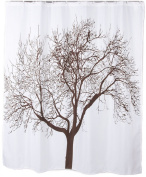 180cm X 180cm Polyester Fabric Tree Shower Curtain