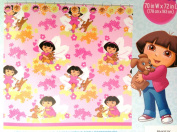 Dora the Explorer Peva Shower Curtain