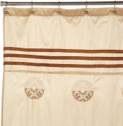 Regal Home Collections Justina Embroidered Shower Curtain