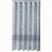 Sonoma Blue Bridgeport Paisley Fabric Shower Curtain Bath