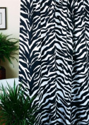Karin Maki 07152011000KM Zebra Shower Curtain Set