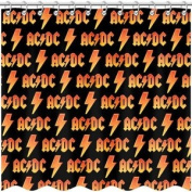 AC/DC - Shower Curtain - Band
