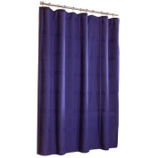 allen + roth Howell Navy Shower Curtain