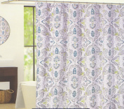 "Cynthia Rowley ""Mica"" Paisley Medallion Print Shower Curtain"
