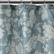 Sonoma Blue Bayside Floral Fabric Shower Curtain Bath