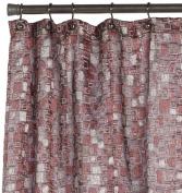 Editex Home Textiles Gina Shower Curtain, 180cm by 180cm