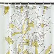 Apt 9 Green Terrace Leaf Fabric Shower Curtain Pretty Leaves Bath