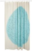 Danica Studios Galaxy Shower Curtain - 180cm x 180cm