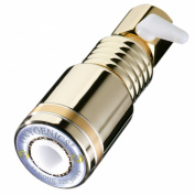 Oxygenics 63123 Skincare, 1 Function Shower Head, Gold, Premium with Comfort Control, Clamshell, 2.50 Gpm