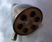 Giessdorf 6 Jet Shower Head - Antique Brass