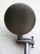 Aussie Rain Shower Head with 23cm Extension - Oil Rubbed Bronze