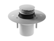 Duravit 790262000000000 Outlet drain for flush fitting shower tray, vertical out
