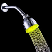 Kingzer New 7Color Automatic Control Changing LED Shower Head Water Light Home Bath G1/2