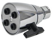 KISSLER 76-0046 Rainflurry Showerhead with an Exhilarating Sensation