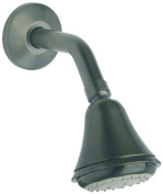 La Toscana 87PO753 Ornellaia Wall Mount Shower Head with Arm and Flange, Oil Rubbed Bronze