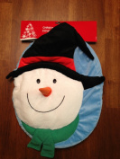 Snowman Christmas Toilet Seat Cover