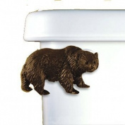 Bear Toilet Flush Handle - Front Mount - Gold