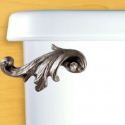 Acanthus Leaf Toilet Flush Handle - Side Tank Mount