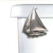 Sailboat Toilet Flush Handle - Front Mount