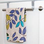Over the Cabinet Door Towel Bar Kitchen Bathroom Housewares Organiser