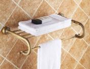 AST 60cm Towel Rack,brass Construction,Antique Bronze #AST09