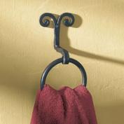 Scroll Bath Towel Ring Hook