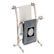 InterDesign York Lyra Towel Stand, Satin