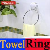 *006 Garbath Kitchen Bathroom Suction Cup Towel Ring, 260006