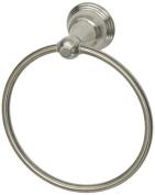 Aqueous 1200TRC9BN Towel Ring, Brushed Nickel