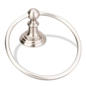 Elements BHE5-06SN Conventional Towel Ring, Satin Nickel