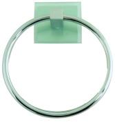 Atlas Homewares ETR-CH Eucalyptus Collection 16cm Towel Ring, Polished Chrome