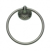 Atlas Homewares MANTR-BRN - Mandalay Towel Ring - Brushed Nickel Finish