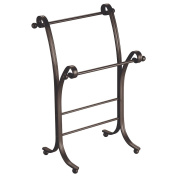 InterDesign York Lyra Towel Stand, Bronze