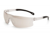 Safety Glasses Invasion Clear Frame Indoor-Outdoor Mirror Lens 15533