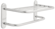 Franklin Brass 2787PC, Bath Hardware Accessory, 46cm Towel Shelf with One Bar Concealed Mounting
