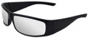 Safety Glasses Boas Xtreme Black Frame Silver Mirror Lens 17922