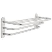 Franklin Brass 2789PC, Bath Hardware Accessory, 60cm Towel Shelf with Two Bars