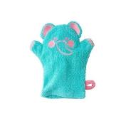 Jumping Beans® Elephant Wash Mitt, in aqua/multi