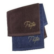 Pastor Towel Pastor Navy with gold