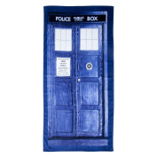 Dr. Who Tardis Navy Blue Bath Towel