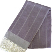 Scents and Feel 100-Percent Cotton Throw shawl Fouta Towel in Herringbone Weave