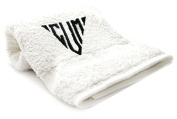 Black Tri Embr Cum Towel