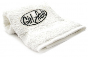 Girlz Rule Embroid Towel