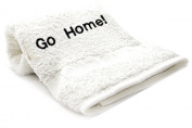 Go Home Embroid Towel