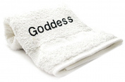Goddess Embroid Towel